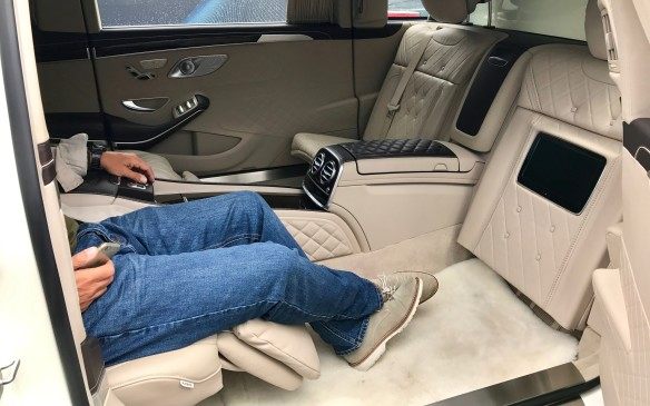 "<p>For complete excess and privacy on the road, the <a href=""http://www.autofile.ca/en-ca/car-reviews/first-look-2018-mercedes-maybach-s650-and-pullman"">Maybach Pullman</a> pulls the length out to 650 cm – that's more than a metre longer than the S560. It has two reclining seats and two smaller seats for assistants that face them, plus a screen that hides the rear cabin from the driver. Pull the curtains closed and it's a total cocoon from the highway. The price will be more than $600,000 – much more if you want one that's bullet- and bomb-proof.</p>"