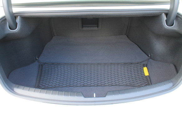 <p>The trunk is large but not exceptionally so, at 452 litres. Some other trunks in this class are roomier, which can mean the difference between holding three sets of golf clubs or four.</p>