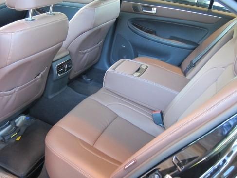 2012 Hyundai Genesis- interior