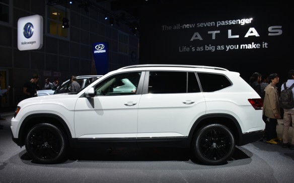<p>Volkswagen has invested a lot of time and resources into rebuilding its lineup with a focus towards SUVs. One of those more talked about models is the seven-seater 2018 Volkswagen Atlas that was designed specifically for the North American market. It's expected to come to dealerships in the spring of 2017.  </p> <p>The Atlas will be built on the MQB platform and sits low and wide – an overall good looking vehicle. Two engine choices are offered: a turbocharged, 238-hp 2.0-litre inline-four and a 3.6-litre V-6 that produces 280 hp and 266 lb-ft of torque. Front- or all-wheel-drive setups are offered with both options being matched to a new eight-speed automatic transmission.</p>