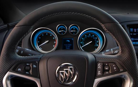 2012 Buick Regal GS - Instrument panel and gauge cluster
