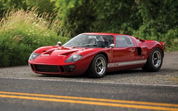 "<p>Ford is taking orders for just 500 of its new GTs. But this 1966 Ford GT40 ""P/1057"" is far rarer. It's one of just 31 road-spec versions of the GT40 Mk I series. As such, it's powered by Ford's 289 cubic-inch OHV V-8 used in the Mustang, but with four Weber carburetors, giving it a power rating of 345 hp. This was one of 20 cars allocated to Ford's Promotion and Disposal Program and one of seven road cars consigned to Shelby American for retail.</p> <p>Expect to pay from <strong>$3.25-to-$3.75-million</strong> (USD) for it at RM Sotheby's.</p>"
