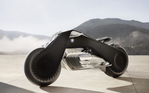 <p>As with the cars, much of the bike will be made from carbon-fibre, which is lighter and stronger than steel. Not just the frame, but components like the brakes and suspension, too.</p>