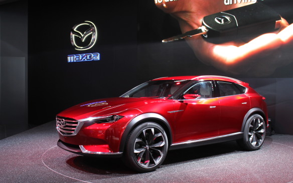 <p>We won't get the sleek Mazda Koeru concept car, but we will get the next generation of the CX-9 that will based on it.</p>