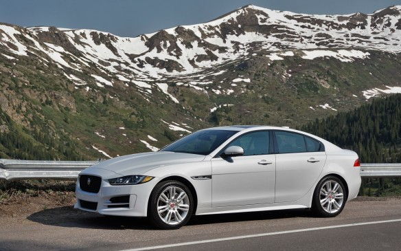 <p>The XE's exterior dimensions place it plumb in the middle of the compact luxury/sport (i.e.: BMW 3 Series) segment. It's based on a rear-wheel-drive architecture but AWD is standard in Canada. Typically of its segment, the base engine is a 2.0-L four-cylinder turbo; less typically, it's a diesel in Canada (the U.S. also gets a 2.0 gas engine). The alternative up-level engine is a 340-horsepower supercharged V6. The diesel (20d) is standard and the V6 (35t) optional on all three trim grades – Premium, Prestige and R-Sport. MSRPs start at $45,000 and top out at $57,500 for the R-Sport 35t (not including options).</p>