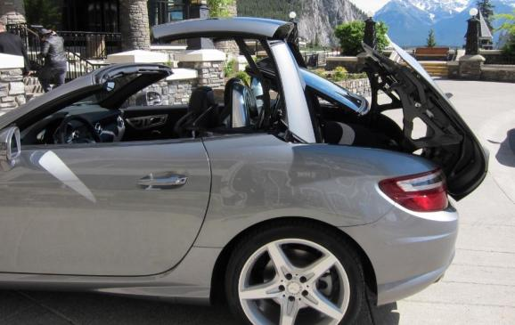 2012 Mercedes-Benz SLK - folding top