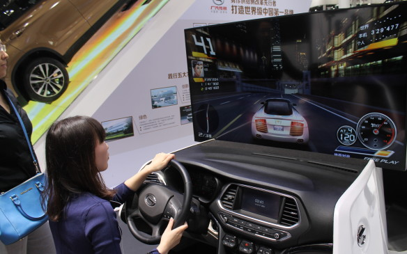 <p>At the end of the day, the only real and ready solution to combining driving fun with Chinese pollution and traffic was found here. Now it's pedal to the metal in China until next year's show in Shanghai.</p>