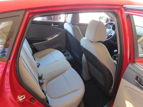 2012 Hyundai Accent 5dr rear view