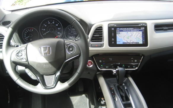 <p>A touch panel controlling the climate control system is also standard, although the upper trims also add a dual zone feature. The premium EX-L trim adds Honda's satellite-linked navigation system, while the base LX and midrange EX can connect with navigation app available from iTunes. The cabin is finished with materials that have a quality feel, with soft leather in the EX-L and durable cloth coverings in the LX and EX. Soft-touch surfaces abound throughout the interior, giving the roomy cabin a sophisticated flavour.</p>
