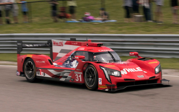 """<p>Cadillac has flagged the DPi-V.R prototype as a special design project – a similar treatment provided to a concept car. According to Russell, """"it's filled with passion and a great reflection towards the spirit of the brand."""" Russell also hints that there are bits of design language that we will see in future Cadillac road cars.</p>"""