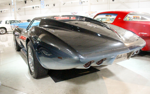 <p>This 1969 Manta Ray concept took the styling theme of the third-generation Corvette to an artistic extreme.</p>