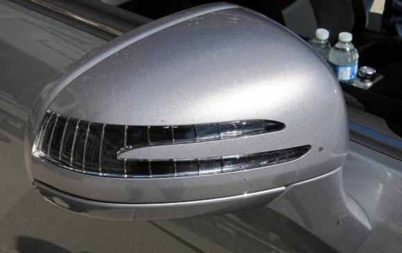 2012 Mercedes-Benz SLK - side view mirror