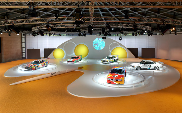 <p>The company is mounting a travelling exhibition of BMW Art Cars to celebrate the 40<sup>th</sup> anniversary of their inauguration. Celebrations began with exhibitions in Hong Kong, at the Centre Pompidou, the BMW Museum and the Concorso d'Eleganza at Lake Como, where the first four BMW Art Cars by Alexander Calder, Frank Stella, Roy Lichtenstein and Andy Warhol, plus the M3 GT2 created by Jeff Koons, were all on display. Further exhibitions are planned for later in 2015 in New York, Miami and Shanghai.</p>