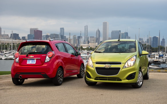 <p>Chevrolet's sub-compact Spark experienced the lowest number of problems in its class. No other model in that category had a score that exceeded the segment average, making it a big win for the Spark.</p>