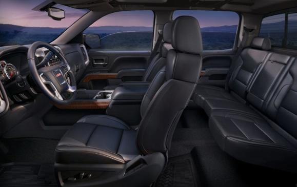 2014 GMC Sierra SLT - interior from driver's side