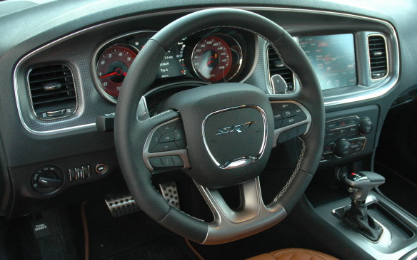 <p>2015 Dodge Charger - instrument cluster</p>