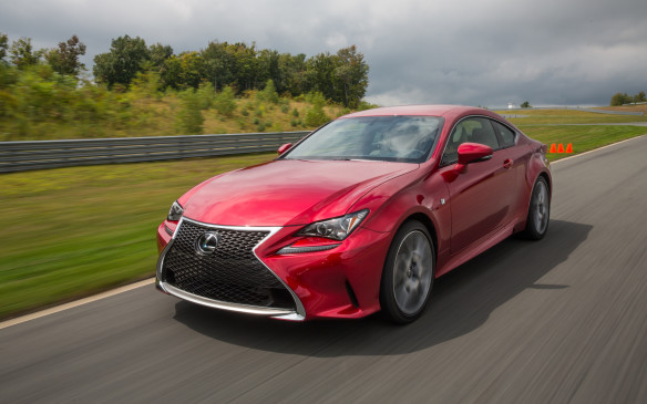 <p>Lexus's highly-styled coupe competitor for the likes of the BMW 4 Series is powered by a 307-horsepower, 3.5-litre V-6 engine and features all-wheel-drive.</p>
