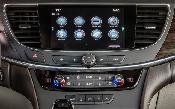 <p>There's a Bose noise-cancelling system, too, similar to that in the Buick Encore, which listens for noise through microphones in the cabin and then mutes it with soundwaves transmitted through the sound system.</p>
