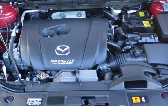 2014 Mazda CX-5 - engine