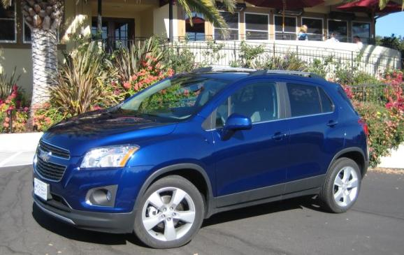 2013 Chevrolet Trax - front 3/4 view