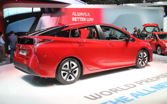 <p>Toyota's fourth generation of the Prius hybrid will also look more sporty, and will be longer, wider and lower than before.</p>