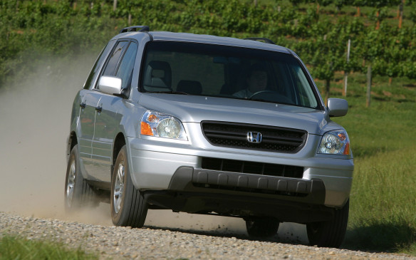 <p><strong>2003-08 Honda Pilot</strong></p> <p>As part of its indoctrination as a major automaker in North America, Honda learned some families come king-sized, so it made its Pilot crossover to seat eight handily. Think of it as the minivan of crossovers – not hard, since it borrowed its platform from the popular Odyssey van. Significantly, its unibody construction was fortified with integrated perimeter frame rails, which helped the Pilot tolerate some towing duties and light off-road use. </p>