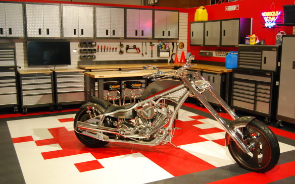 """<p>For some, the trek to the auto show is all about the dream. """"How would you spend a lottery win?"""" """"What's your dream car?"""" Well. Don't stop at which vehicles you would buy. Don't forget about the custom garage, with all the tools you could think of. (If only it would stay this clean!)</p>"""