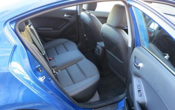 2014 Kia Forte - rear seat