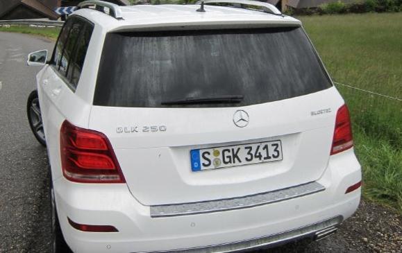 2013 Mercedes-Benz GLK - rear view