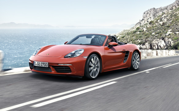 <p>For the first time ever, Boxsters are powered by four cylinders, not six.</p> <p>By Mark Richardson</p>