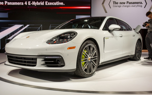 <p>The short-wheel base Panamera 4 E-Hybrid was shown off in Paris, so Los Angeles became the setting for the long-wheelbase Executive version. Both models will now have a new turbocharged, 2.9-litre Biturbo V-6 engine that pumps out different horsepower numbers (330, 462 and 550) depending on the Executive version.</p>