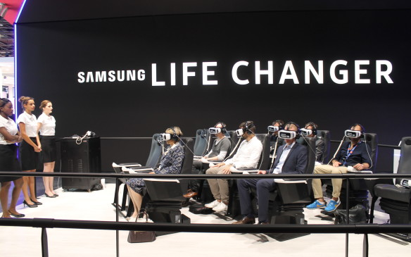 <p>And less physical attendees could experience a lap of Le Mans through virtual reality.</p>