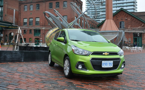 <p>We take the 2016 Chevrolet Spark for a spin in its natural environment on the urban streets of Toronto and it feels right at home.  </p>