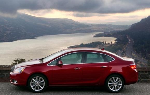 2012 Buick Verano - side view