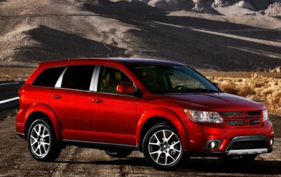 2013 Dodge Journey - side view