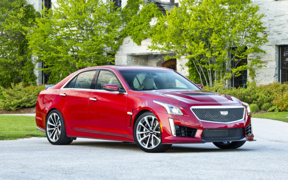 <p>The third-generation CTS-V, with its a supercharged, 640-horsepower, 6.2-litre V-8 engine (shared for the most part with the Corvette) is the most powerful production vehicle in Cadillac's 112-year history.</p>