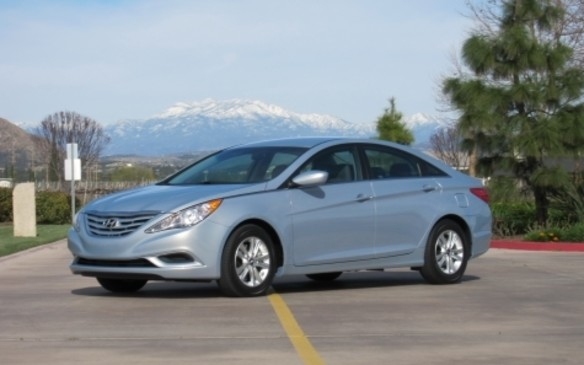 <p>Designed in its California studio, Hyundai's 2011 Sonata sedan was striking, delighting buyers with its swoopy coupe-like profile that enveloped a full-size cabin. The base engine was a direct-injection 2.4-L four cylinder that made 198 hp. A performance option arrived later in the form of a 2.0-L twin-scroll turbocharged four-cylinder, good for 274 hp. Reliability generally has been good – until drivers rack up high mileage. That's when owners started reporting oil consumption, engine bearing and piston ringland failures and connecting-rod knock, leading to complete engine demolition.</p>