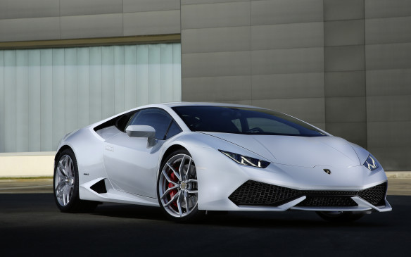 <p>We're halfway through our list and we can imagine there are readers kvetching about the dearth of exotic supercars. This one's for them, knowing that some Canadian millionaires will stray from the script and walk into a hyper-expensive import dealership to kick some pricey Pirellis. Lamborghini's starter car, the Huracán, is the Italian sportscar maker's latest wedgy doorstop. Stuffed behind the jetfighter-like cockpit is a 602-horsepower V-10 engine tied to a seven-speed dual-clutch automated transmission (there's no manual gearbox available) and all-wheel drive. With its copious power directed to all four fat tires, this Lambo can leap to 97 km/h in less than three seconds.</p>