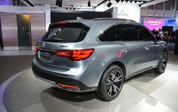 Acura MDX Prototype - rear