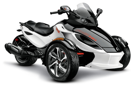 """<p>And now for something completely different. Leave it to Bombardier, the inventor of the snowmobile, to recast the motorcycle as a safe conveyance older operators can get excited about. Introduced in 2007, the Can-Am Spyder has a single rear drive wheel and two wheels in front for steering, providing ride and handling similar to that of, well, a snowmobile. By turning around a motorcycle """"trike"""" – which was notoriously unsafe – to tie the pair of wheels to the handlebars at the front, the """"roadster"""" becomes a remarkably stable machine that can be ridden at speed with confidence, even by a</p>"""