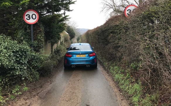 <p>You'd have to be very foolhardy indeed to drive this road at anywhere near the legal posted speed limit. Those signs are in miles per hour, don't forget.</p>