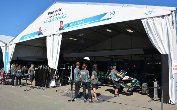 <p>Showing off the I-Pace Concept was Jaguar's first step into the fully-electrified world; and with Formula E, it hopes to establish a perception as an EV brand.</p> <p>Jaguar has promised that by 2025, half of its vehicles will have some sort of electrification. That statement emphasizes the importance of that real-world technology transfer push from racing to road cars.</p>