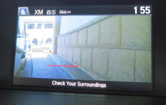 2013 Honda Accord - video screen
