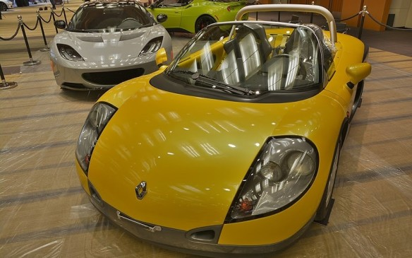 <p>Not all convertibles are made the same. Case in point: the Renault Sport Spider. This rather fascinating, roofless, butterfly door equipped sports car was only built between 1996 and 1999 reaching a production total of just 1,685 units. You can thank the Lotus Elise for the demise of the Renault Sport Spider as the Elise dominated the sales floors and went on to spawn even better predecessors. The Renault Sport Spider was not officially sold in Canada but a handful of imported examples, like the one pictured here, do exist.</p>