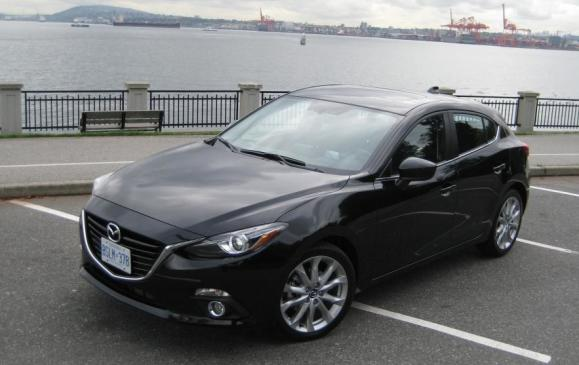 2014 Mazda3 - front 3/4 view high