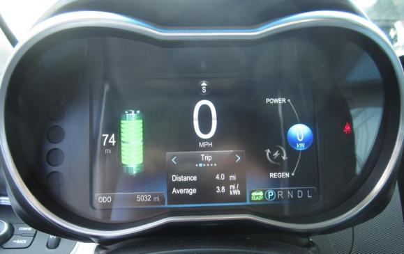 2014 Chevrolet Spark EV - Instrument Cluster