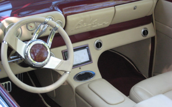 <p>The car was restored by Alan's Upholstery and Auto Restoration in Liverpool, N.S., who updated the mechanicals to modern standards, added custom touches and amenities to the interior, while retaining the car's original classic look. </p>