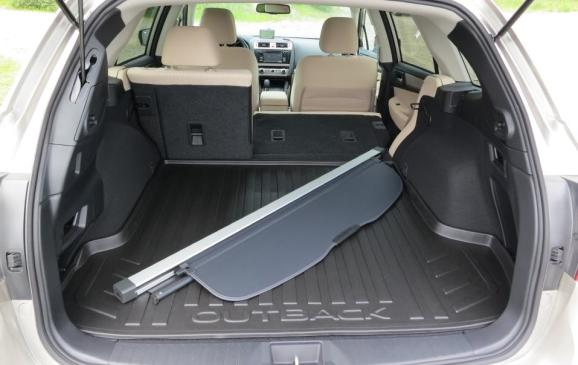 2015 Subaru Outback - rear cargo area