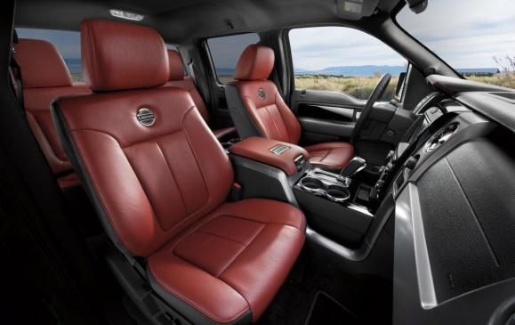 2013 Ford F-150 Limited - Interior