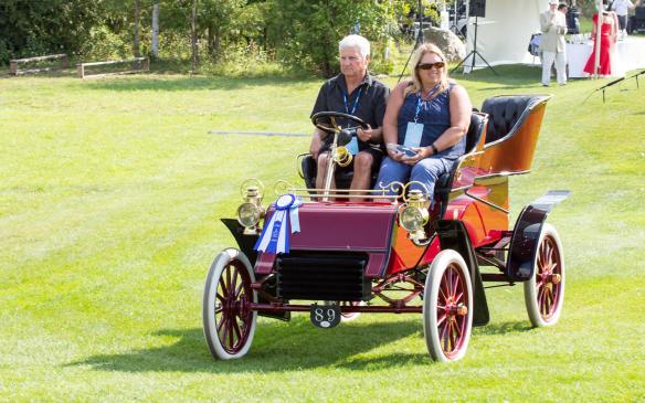 <p>The class winner was this1904 Ford Model AC Rear-Entrance Tonneau.</p>